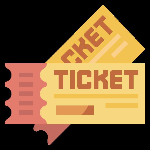Ticket  free icon