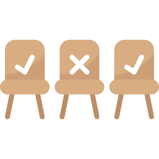 Chairs  free icon