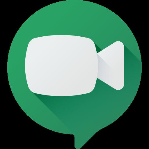 Hangouts meet  free icon