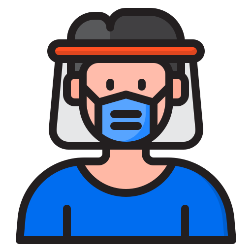 Face protection  free icon