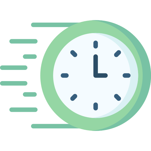 Fast time  free icon
