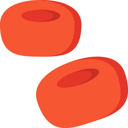 Blood cells  free icon
