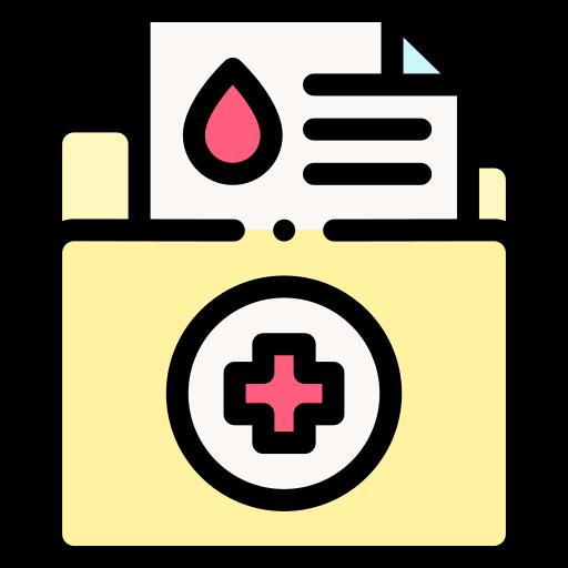 의료 폴더  무료 아이콘