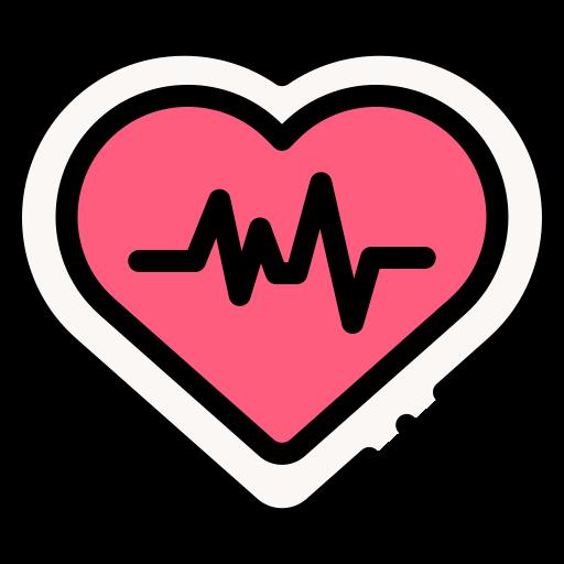 심박수  무료 아이콘