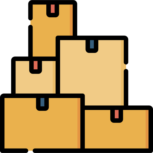 Packages  free icon
