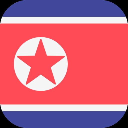 coreia do norte  grátis ícone