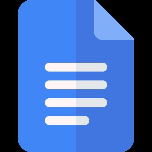 google docs  icono gratis