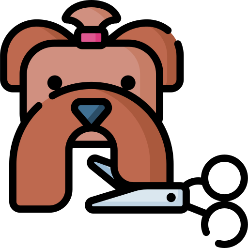 Pet grooming  free icon