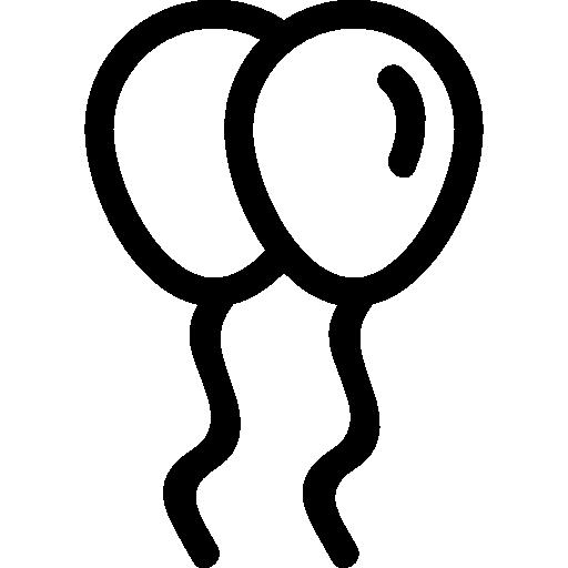 풍선 커플  무료 아이콘