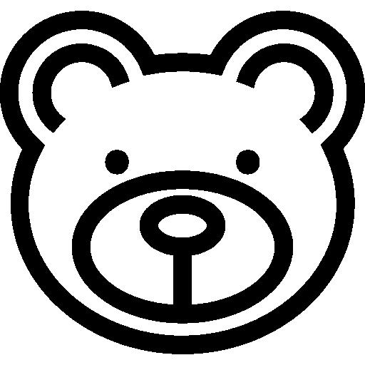 곰 얼굴  무료 아이콘