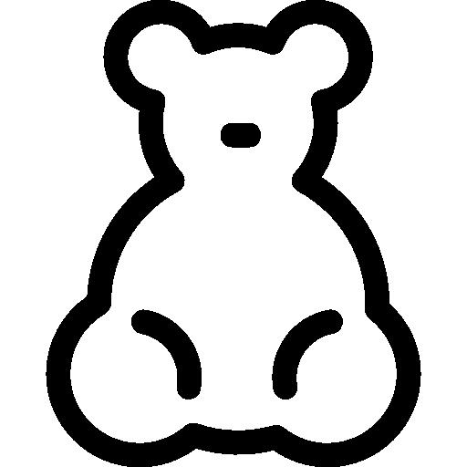 아기 곰 장난감  무료 아이콘