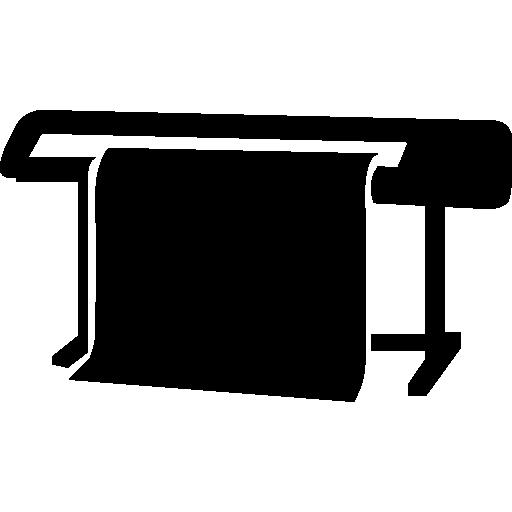 Печатная широкоформатная машина  бесплатно иконка