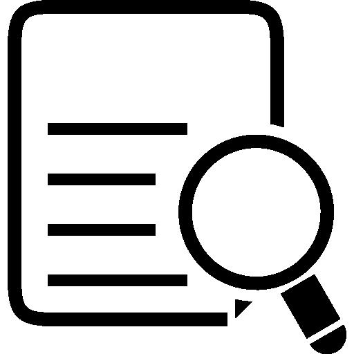 variante de recherche de liste  Icône gratuit
