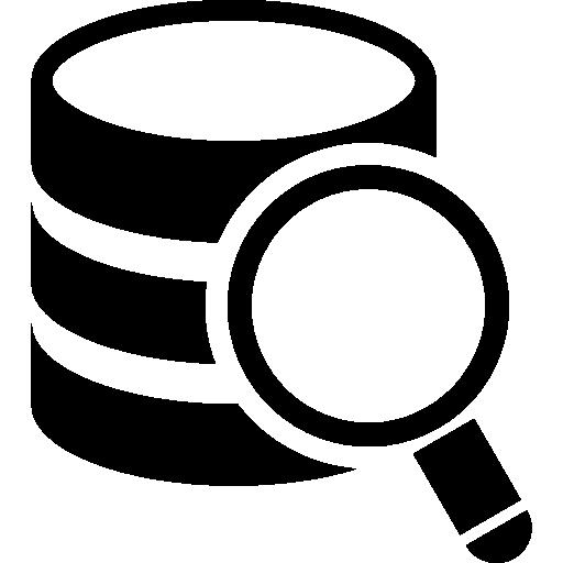 daten in der datenbank suchen  kostenlos Icon