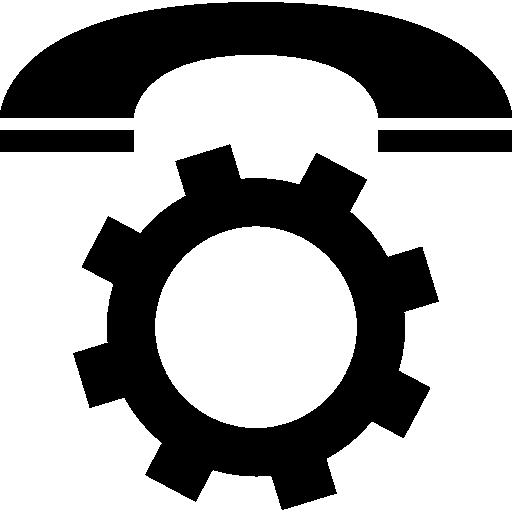 Конфигурация телефонных звонков  бесплатно иконка
