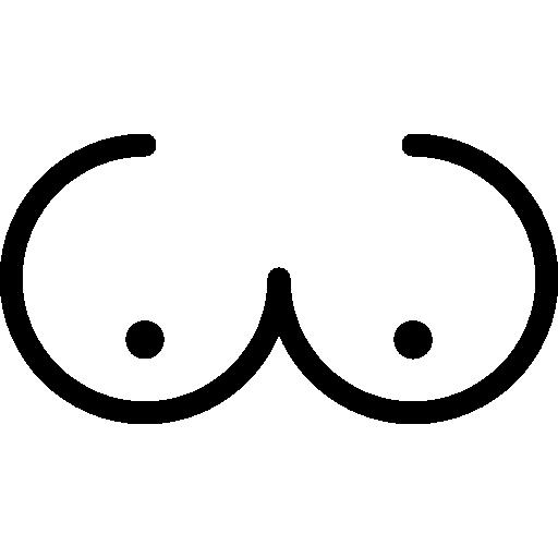 Bosom  free icon