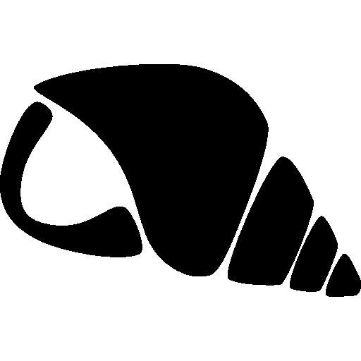 coquille nautilus de la vie marine pour entendre le bruit de la mer pour se détendre  Icône gratuit