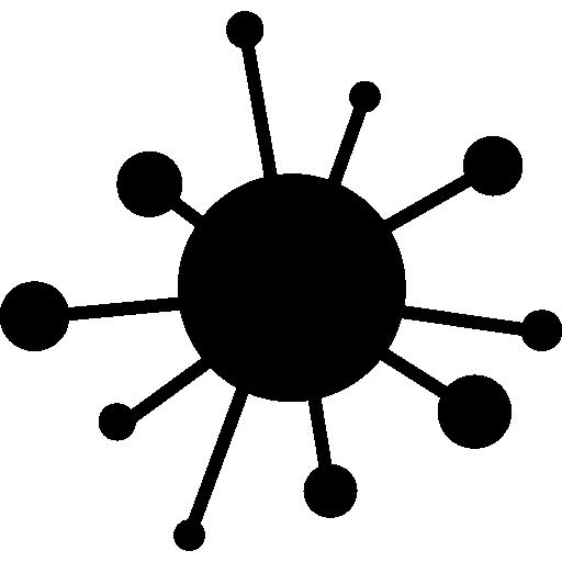 Computer virus  free icon