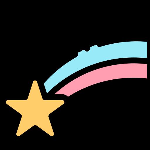 estrella fugaz  icono gratis