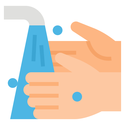 Wash your hands  free icon