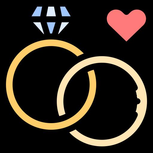 anillo de diamantes  icono gratis