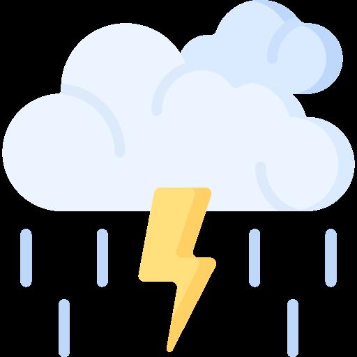 Storm  free icon