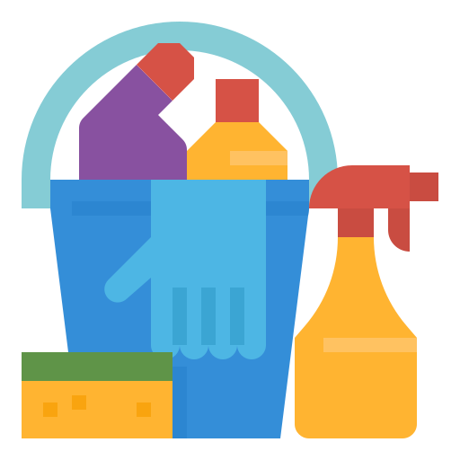 Cleaning  free icon