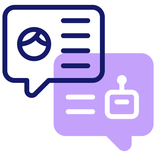 chatbot  icono gratis