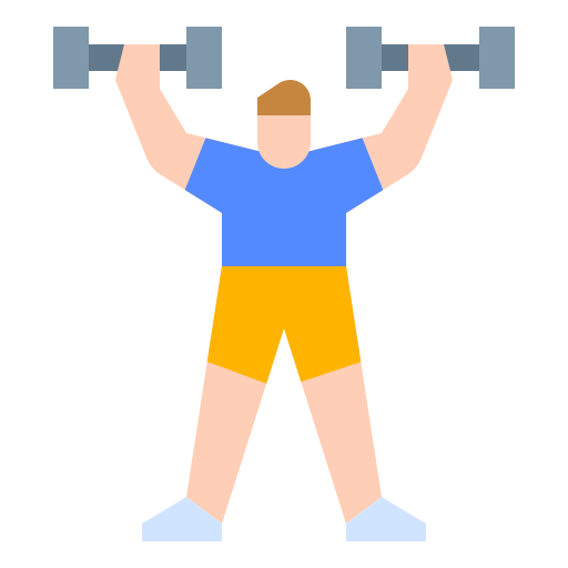 Dumbbell  free icon