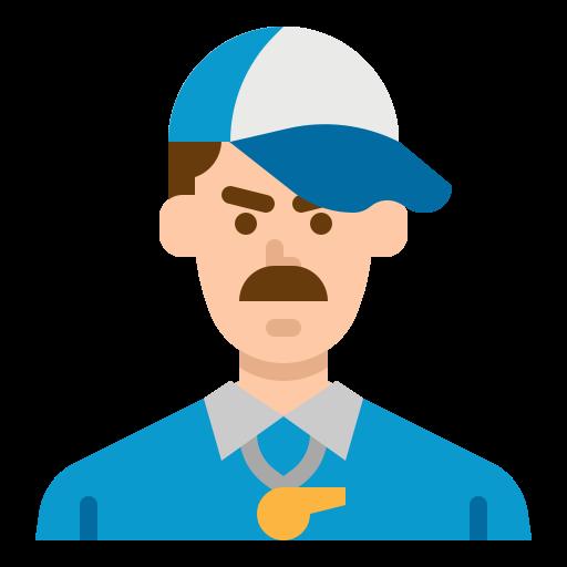 Coach  free icon