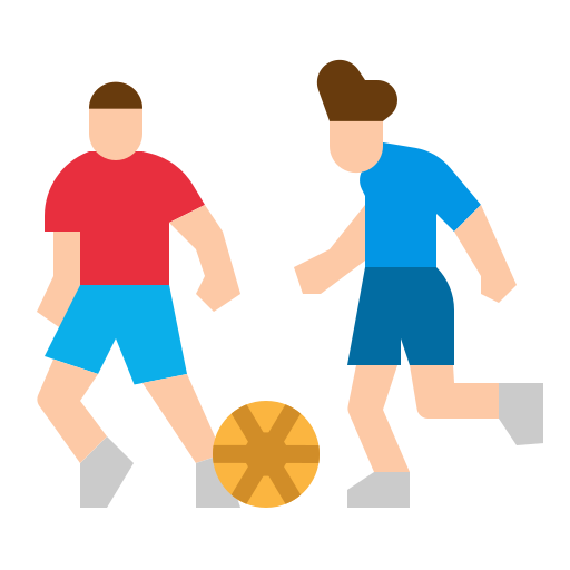 Football players  free icon