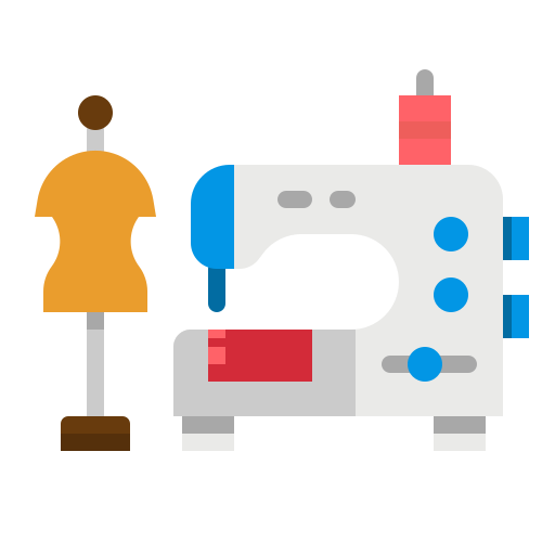 Sewing machine  free icon