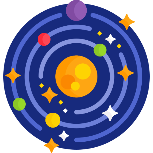 Solar system  free icon