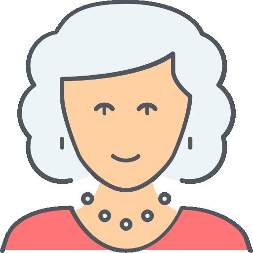 grand-mère  Icône gratuit