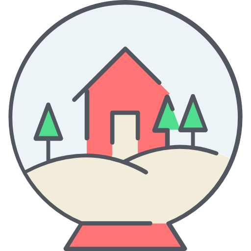 Snow globe  free icon