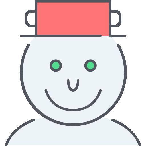 bonhomme de neige  Icône gratuit