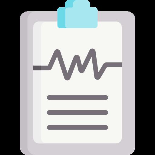 rapport médical  Icône gratuit