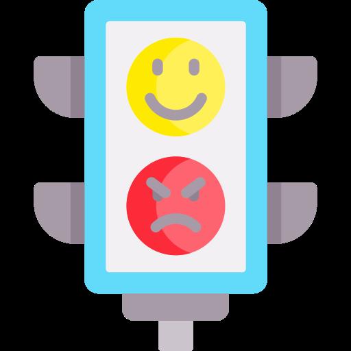 Émotif  Icône gratuit
