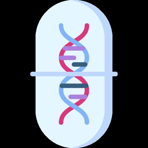 terapia de genes  icono gratis