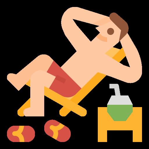período de férias  grátis ícone