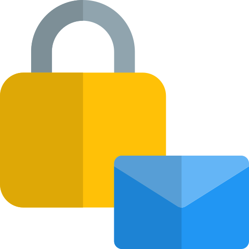 Email blocker  free icon