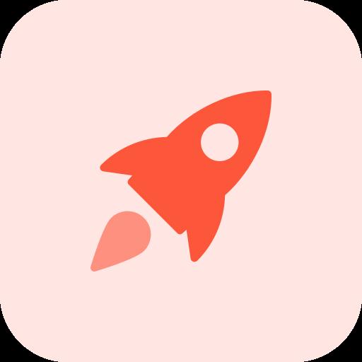 rakete  kostenlos Icon