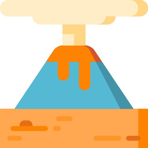 volcán  icono gratis