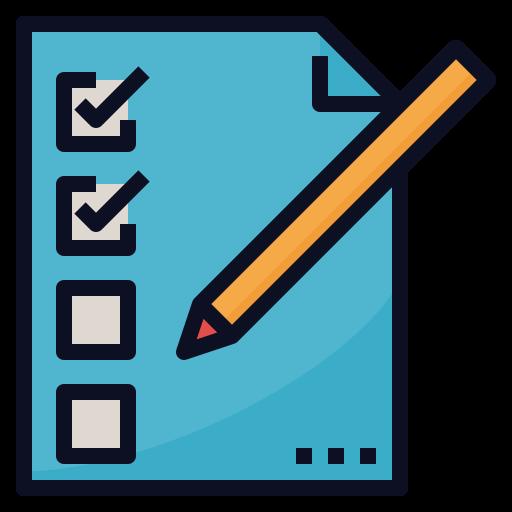 Контрольные списки  бесплатно иконка
