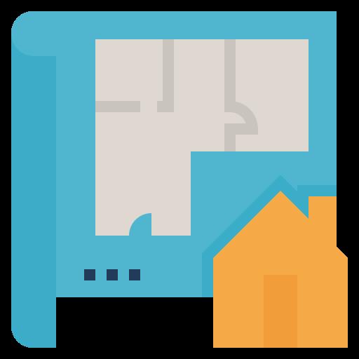 plan d'étage  Icône gratuit