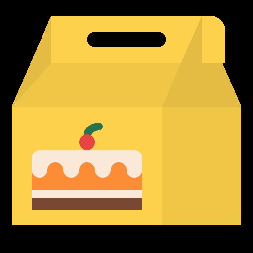 Cake box  free icon
