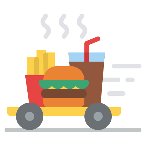 Fast delivery  free icon