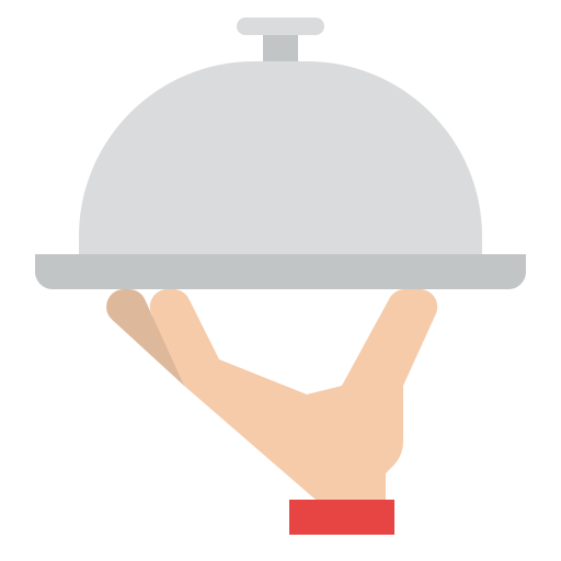 Food serving  free icon