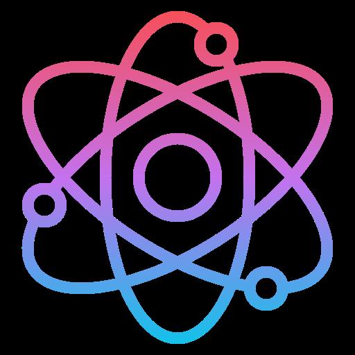 Atom  free icon