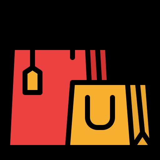 las compras en línea  icono gratis